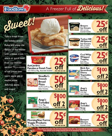 Foodtown Gift Card - page 16 foodtown