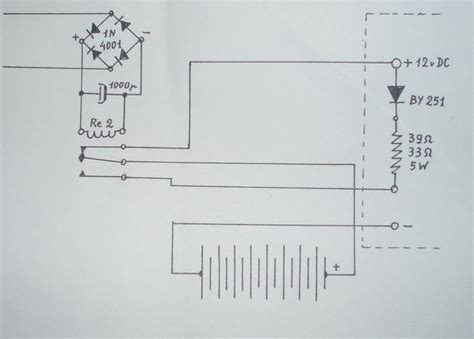 Rechargeable Led L Circuit Diagram by The Simplest Rechargeable Battery Circuit And Save The