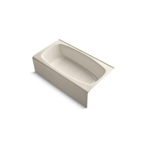 kohler dynametric bathtub kohler dynametric 5 ft right drain rectangular alcove