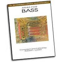 1458402673 arias for bass g schirmer g schirmer opera anthology sheet music arrangements