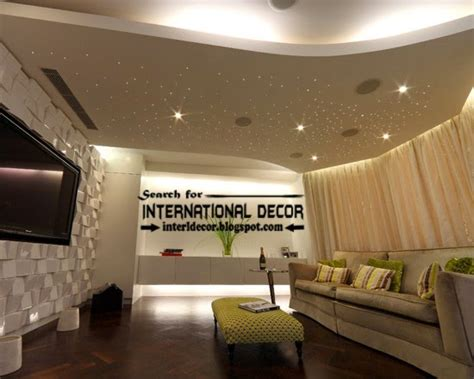 Living Room False Ceiling Ideas by International Decor