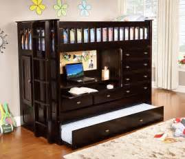 Discovery world furniture twin all in one espresso loft bed kfs