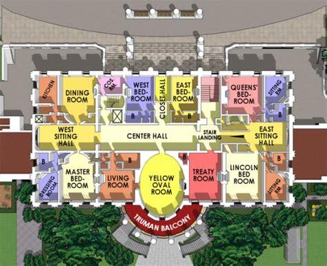 white house floor plan living quarters 14 choses incroyables que vous ignoriez sur la maison blanche
