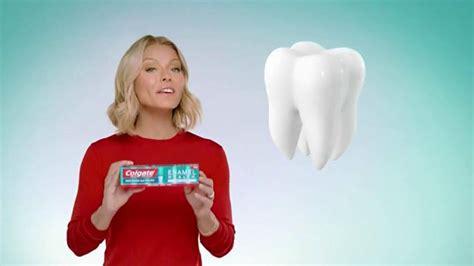 kelly ripa colgate commercial colgate enamel health toothpaste tv spot line of defense