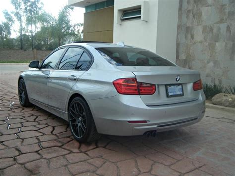 modified bmw 328i modified bmw f30 328i glacier silver pics