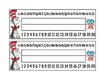desk name plates for students dr seuss desk name plates dr seuss