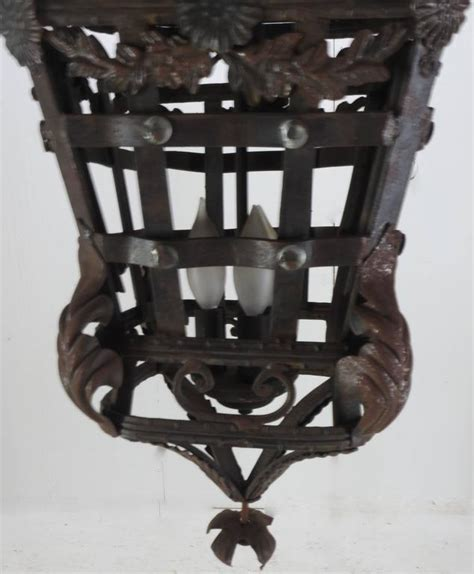 Cast Iron Light Fixtures 20th Century Cast Iron Light Fixture For Sale At 1stdibs