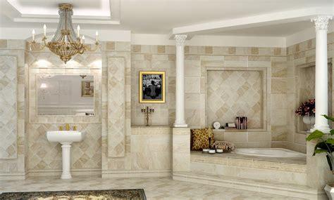 3d interior design bathrooms neoclassical neoclassical bathroom 3d image