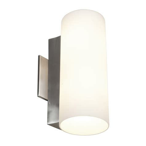 Sconce Bathroom Lighting Stainless Steel Wall Mounted Sconce Light Fixtures With White L Shades Ideas