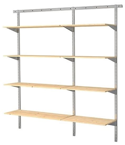 broder 2 sections wall upright contemporary display