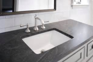 Grey Bathroom Countertops by Gray And Black Granite Countertops Design Ideas