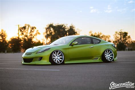 genesis coup all out jonny s hyundai genesis coupe stancenation
