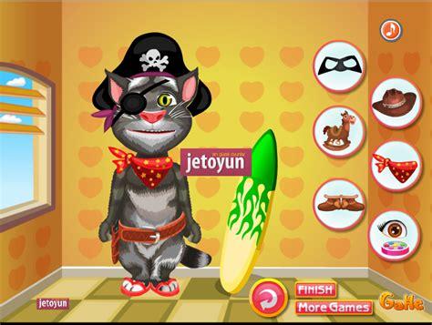konusan kedi tom giydirme oyunu oyna hayvan oyunlari