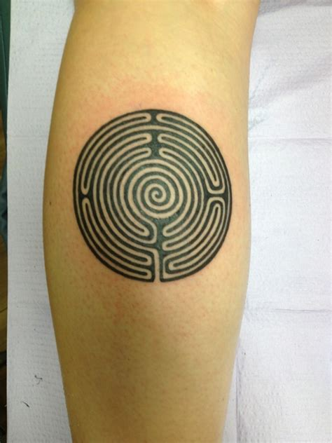 maze tattoo designs maze best design ideas