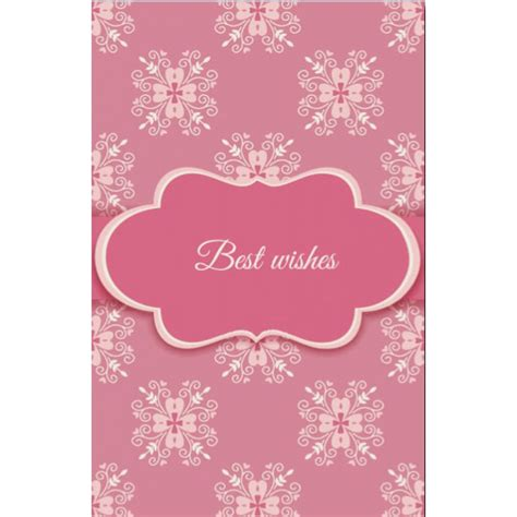 Best Wishes For Wedding Card