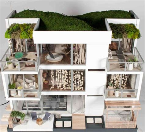 institute dollhouses 415 best miniature modern dollhouses images on