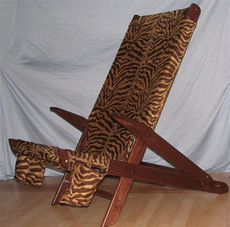 tiger chair made tiger print chair by heytens wood design inc