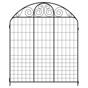 home depot decorative fence summer scroll 860053 the home depot