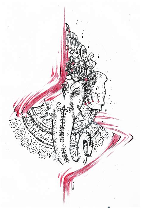 ganesha tattoo design by agresivoo on deviantart