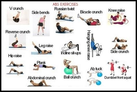 home abs workout ideas