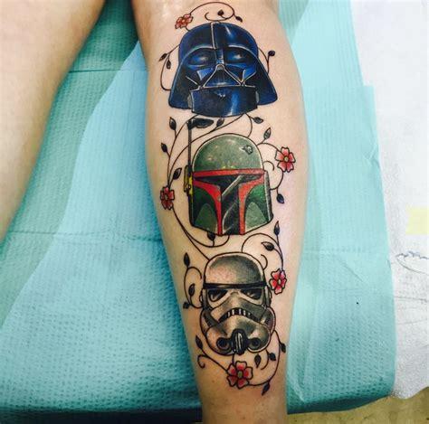 darth vader thigh tattoo geeky tattoos 29 darth vader helmet tattoos and designs