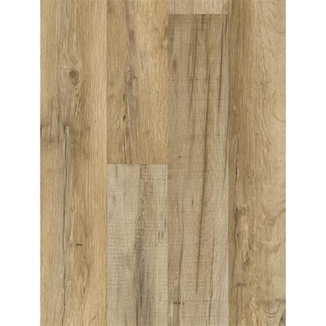 shop style selections 7 59 in w x 4 23 ft l tavern oak embossed wood plank laminate flooring at