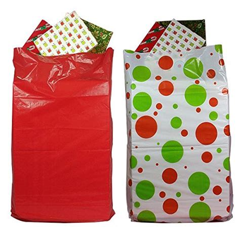 2 pack giant christmas gift bags for easy wrapping large