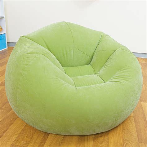 pouf pour chambre ado pouf gonflable fauteuil disponible en vert violet