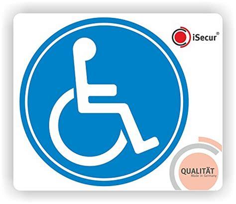 Aufkleber F Rs Auto Rollstuhl by Easydruck24 Rollstuhl Aufkleber I Kfz 076 I 216 10 Cm I