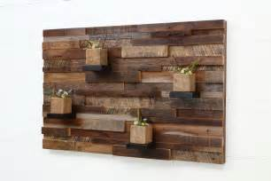 reclaimed wood home decor reclaimed wooden pallet wall recycled things