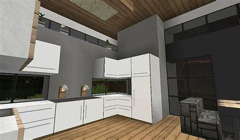 Kitchen Cabinet Designs 2014 modern kitchen using item frames minecraft project