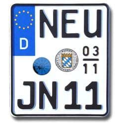 125er Motorrad Kennzeichen by Saisonkennzeichen Motorrad Hier Gt Gt G 252 Nstig Bestellen