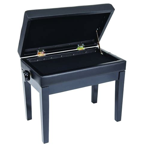 adjustable piano bench review kinsman kpb10bk deluxe adjustable piano bench with storage