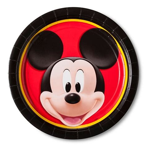 Paper Plates 7 Mickey Isi 8 8 ct mickey mouse dinner plate target