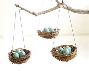 Home Decor Ornaments by Christmas Ornaments Nest Blue Robins Eggs Tree