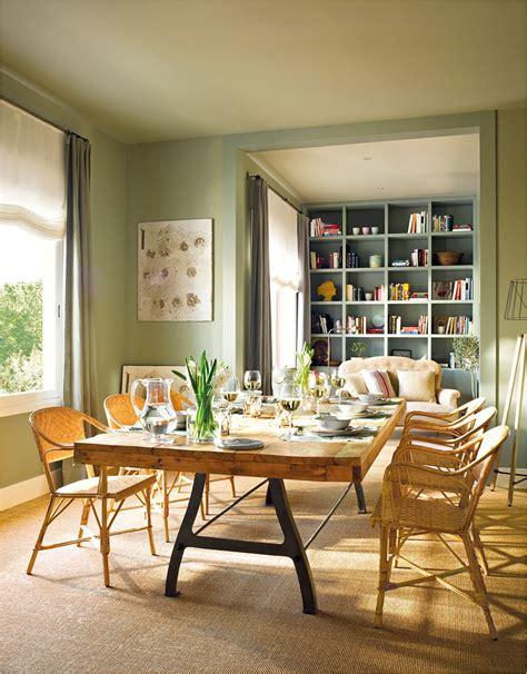 colores  pintar sala comedor  cocina juntos colores