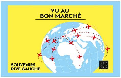 Vu Au Bon Marché by Vu Au Bon March 233 Souvenirs Rive Gauche
