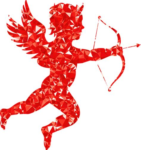 free vector graphic cupid angel arrow bow cartoon