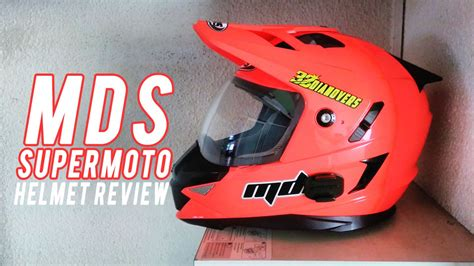Murah Mds Superpro Solid Supermoto review helm mds pro solid supermoto fluo