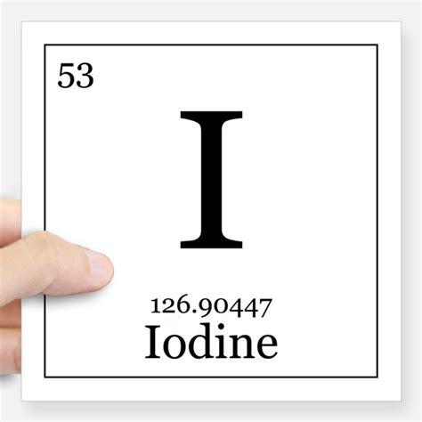 Iodine Periodic Table by Iodine Periodic Table Gifts Merchandise Iodine