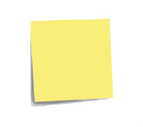 post it note plain clip at clker vector clip royalty free domain
