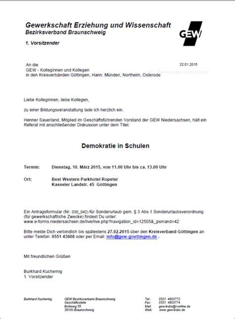 Antrag Bildungsurlaub Vorlage Kreisdelegiertenversammlung Und Bildungsveranstaltung Als Einzige Fcher Gelten Fr Den Religions