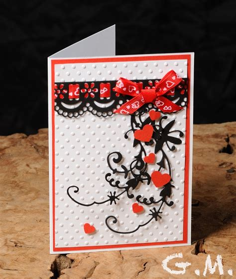 Handmade Anniversary Cards - lovely handmade anniversary cards collection trendy mods