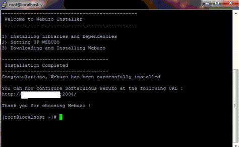 tutorial install zimbra di centos tutorial cara install panel webuzo pada vps centos