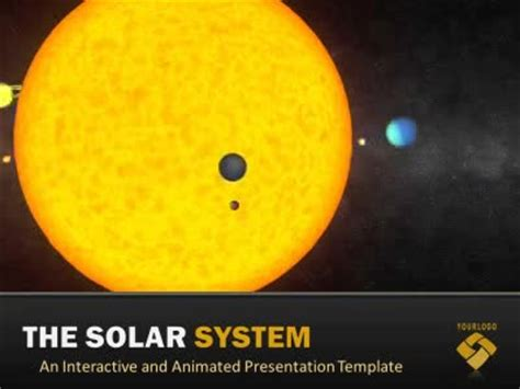 Solar System A Science And Technology Powerpoint Template From Presentermedia Com Solar System Powerpoint Template