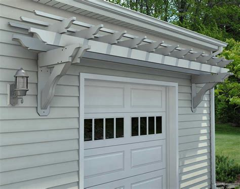 Garage Carport Plans Vinyl Eyebrow Breeze Wall Mount Pergolas Pergolas By