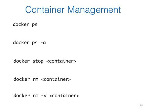 docker ps tutorial using docker containers to improve reproducibility in