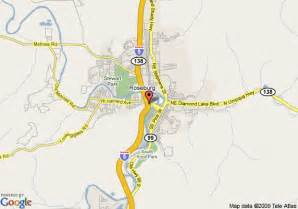 map of travelodge roseburg roseburg