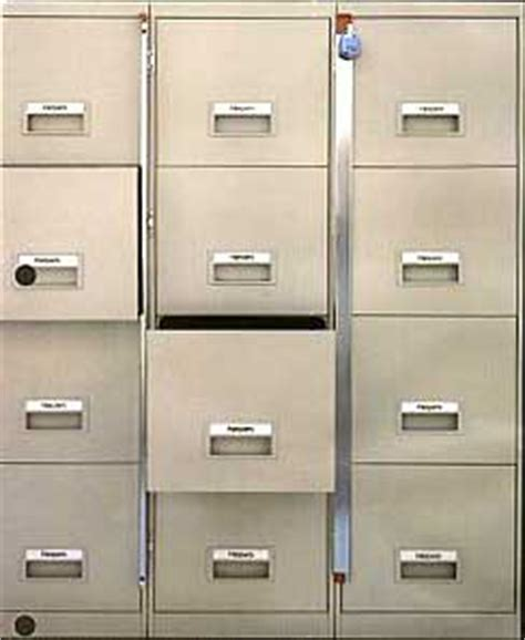 How To Open A Locked File Cabinet by File Cabinet Locking Bars Secure Files In Cabinets With