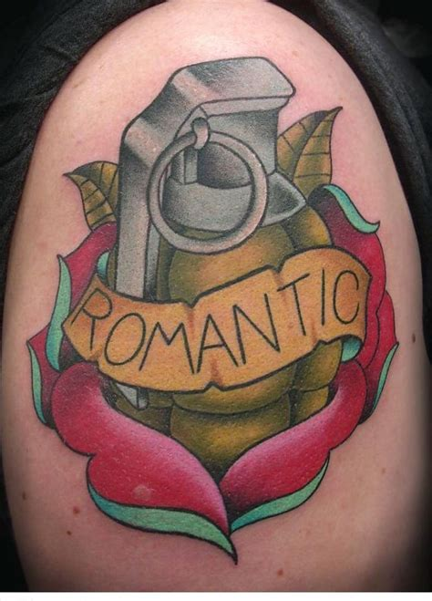 love tattoo gun grenade 181 best gun s and weapons tattoos ideas images on